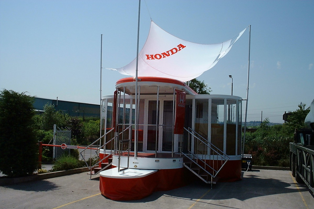Honda Lightweight Artic and Drawbar Exhibition and