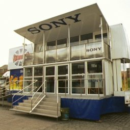 Sony Unit deployed on site outside