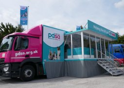 PDSA 18 ton Mobile Veterinary Clinic and Exhibition Vehicle