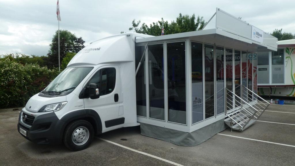 Millbrook Healthcare 5000 Kg Expandable Healthcare Van